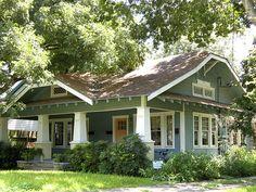 アメリカの経済的な平屋建て小住宅01