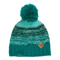 North Face Womens Antler Beanie - Has a fleece liner around the ears and will keep you super warm around the resort.