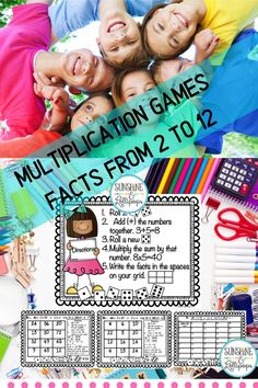 $3 · If you are looking for a fun way to reinfore multilication facts, then this definitely will be your go to activity! Roll and Cover multiplication is super game for your students to play for… More