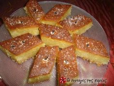 See what I'm cooking on Cookpad! Greek Sweets, Greek Desserts, Greek Recipes, Fall Recipes, Vegan Recipes, Semolina Cake, Cooking Cake, Vegan Dishes, Different Recipes