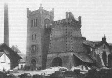 Štěpánov nad Svratkou -vysoká pec zdejší huti-nyní Štěpánovských železáren z roku1861