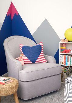 Oh Joy nursery/office by Emily Henderson