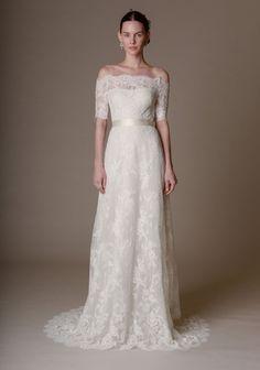 Robe de mariée style empire Marchesa 2016