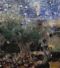 Adrian Ghenie, Starry Night (2013) [oil on canvas, 225x200cm] Galeria Plan B