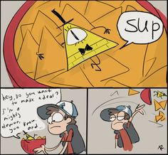 Gravity Falls, 5 by Ayej.deviantart.com on @deviantART