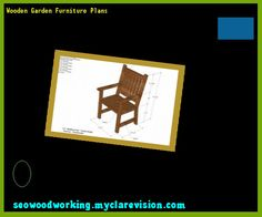 Wooden Garden Furniture Plans 094854 - Woodworking Plans and Projects!