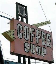Buffalo Hotel Coffee Shop Sign, Red Deer, Alberta