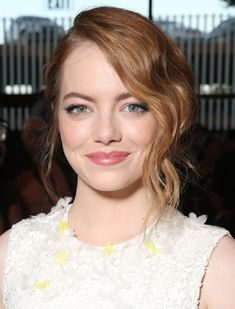 "If you're having trouble parting from your strawberry-colored strands, go just a hint deeper than they were this summer. Add a golden red hue to your hair like Emma Stone is flaunting here. Look for terms like ""golden red"" or ""rich, golden strawberry"" on at-home box kits.   - Cosmopolitan.com"
