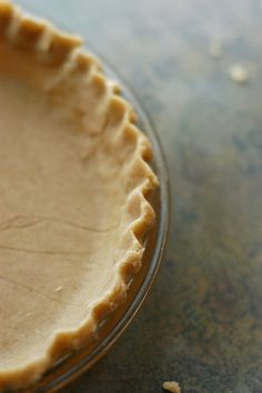 Glutan Free Pie Crust! I'm Makin' it this week (crimped edges by shauna | glutenfreegirl, via Flickr)
