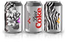 Three of my favorite things: Benefit, Diet Coke & Houndstooth.