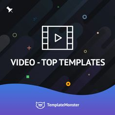Don't miss the releases of our templates -  https://www.pinterest.com/templatemonster/video-top-templates/