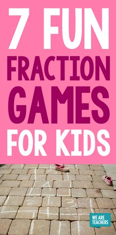 7 Fun Fraction Games For Kids (Teacher Approved!)