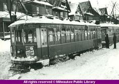 Milwaukee was stopped cold by the blizzard of I never heard my Dad or Nano and Nana speak of this. Milwaukee Road, Milwaukee Wisconsin, Abandoned Castles, Abandoned Places, Abandoned Mansions, Wisconsin Winter, Abandoned Amusement Parks, Old Trains, Historical Photos