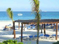 Catalonia Privileged Maroma - All-Inclusive Resort in Mexico Mexico.  Beach area for non-Privileged guests