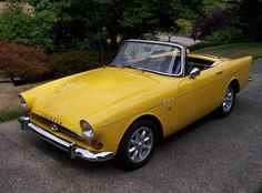 1965 Sunbeam Tiger Maintenance of old vehicles: the material for new cogs/casters/gears/pads could be cast polyamide which I (Cast polyamide) can produce