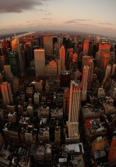 New York Midtown por Hannes Welker