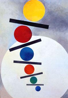 Anton Stankowski   (German, 1906 – 1998)Point Progression (Punktprogression), 1952