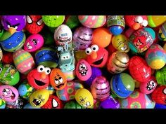 ▶ 150 Giant Surprise Easter Eggs 2014 Kinder CARS Star Wars Marvel Avengers Disney Pixar Nickelodeon - YouTube