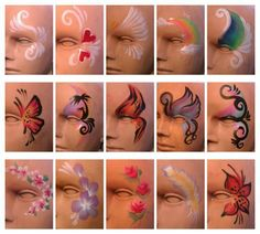 #FACEPAINTING IDEAS - very hice