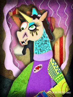 "Unicorn of the Day ""Collage Unicorn"" | That's So Unicorny"