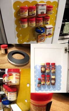 Inspired by those overpriced magnetic spice racks