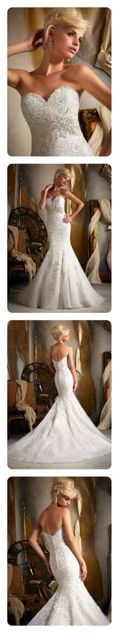 Mori Lee 1903 ~ The Moderne Bridal, Cork