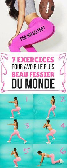 7 EXERCICES POUR AVOIR LE PLUS BEAU FESSIER DU MONDE