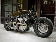 Harley Knucklehead by Rough Crafts & Zero Engineering