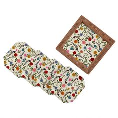Belle13 Sweet Guns And Roses Coaster Set- All trays and coasters 20% off through 10/18!