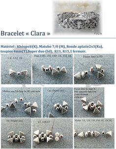 DIY - Tutoriel bracelet Clara par Puca® (Gratuit)