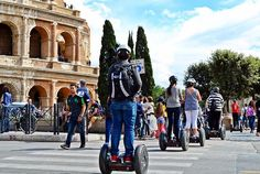 Relive the days of Ancient Rome wile you glide throughout the most spectacular places of the Imperial Rome on the coolest ride of the 21st Century! http://ift.tt/1HyhM6j #rome #italysegwaytours