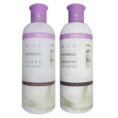 Toner Wigh milk protein concentrate, White toner adds elasticity and gloss to the skin. It helps skin to keep moisture with aloe, green tea, rosemary, gold, and camomile extracts and presents beauty. Emulsion With milk protein concentrate,  White Emulsion protects skin from getting rough and adds elasticity aond gloss to the skin, making brighter and clear skin tone.