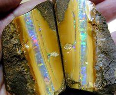Boulder Opal Split