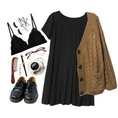 Sleepy by cnline on Polyvore featuring Monki, Cosabella, Dr. Martens, Forever 21, Boohoo and Mason Pearson