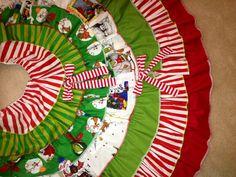 Grinch Christmas Tree Skirt