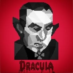 Designed a #lowpoly #pixelart #Dracula #halloween #mrbray #vampire #timewarner #classiscmoviemonster #design #creatureofthenight #undead #bloodsucker #typography #8bit #16bit #adobe #photoshop #illustrator #art #graphicdesign #color #colorful #graphic #graphicdesign #popart #artoftheday #film #animation #instaart #vector