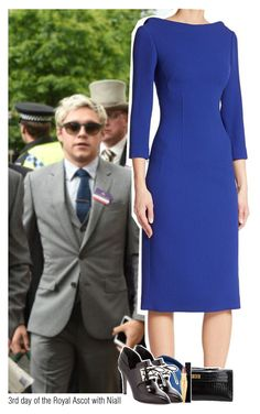 """""""3rd day of the Royal Ascot with Niall"""" by sixsensestyles ❤ liked on Polyvore featuring Antonio Berardi, Hermès, Jason Wu, Gucci and Christian Louboutin"""