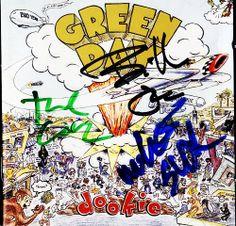 Signed Dookie album