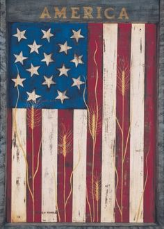 America Garden Flag by Toland Home Garden. $14.16. All Toland Flags are machine washable. Toland Flags are made from durable 600 denier polyester. Toland Flags are UV, Mildew, and Fade Resistant. Decorative Art Flag. Heat sublimated process permanently dyes flag fabric for long-lasting color. America Garden Flag 12-1/2 by 18