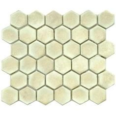Merola Tile Cobble Hex Polar 10-3/4 in. x 12 in. x 12 mm Ceramic Mosaic Floor and Wall Tile-FDXCHPO - The Home Depot