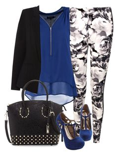 Hanna Marin inspired outfit with black blazer by liarsstyle on Polyvore featuring polyvore, fashion, style, New Look, Oasis, Boohoo and Urban Originals