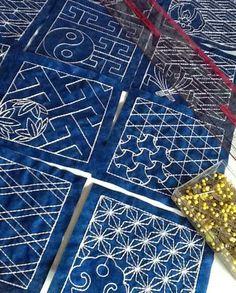 Sashiko Table Runner - Advanced Embroidery Designs