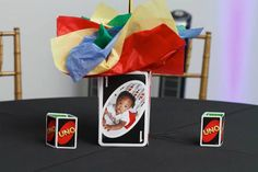 """Kara's Party Ideas """"Uno"""" Themed First Birthday Party"""
