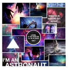 """""""Space is my playground"""" by v4ccines ❤ liked on Polyvore featuring art, i'm an astronaut, hipster, triangles, jazz hands, space, are, the final frontier and so"""