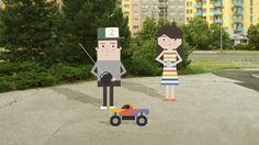 ''ZETBOX'' Animated by Jan Sramek. Baseball Field, Illustrators, Skateboard, Owl, Animation, Outdoor Decor, Design, Skateboarding, Skate Board