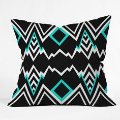 Elisabeth Fredriksson Wicked Valley Pattern 2 Throw Pillow | DENY Designs Home Accessories