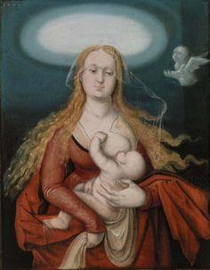 Hans Baldung Grien (Hans Baldung) German, 1484/85–1545 Madonna and Child  1539