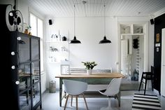 yay - scandinavians & their love for serene spaces - it's like they're from another world (: