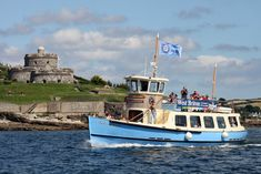 St Mawes Ferry runs frequently between Falmouth and St Mawes