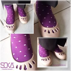 Essentials Polkadot by SOKA  #soka #socks #polkadot #mysocks #kaoskaki